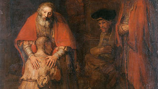 Rembrandt's Painting The Return of the Prodigal Son [Public domain]