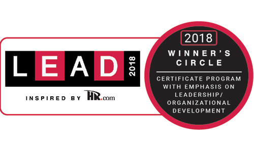 Lead Winner's Circle 2018 Award for Leadership and Organizational Development