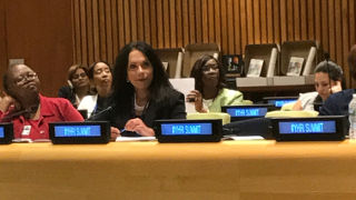 Paula Franzese Presenting at UN Human Rights Summit