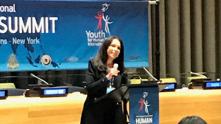 Paula Franzese, Professor Presents at UN Human Rights Summit