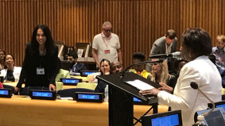 Professor Paula Franzese Presenting at UN Human Rights Summit