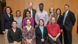 Photo of University Research Council Grants winners