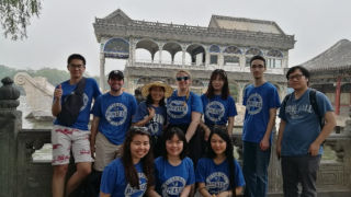 Students at Summer Palace in Beijing 320 pic